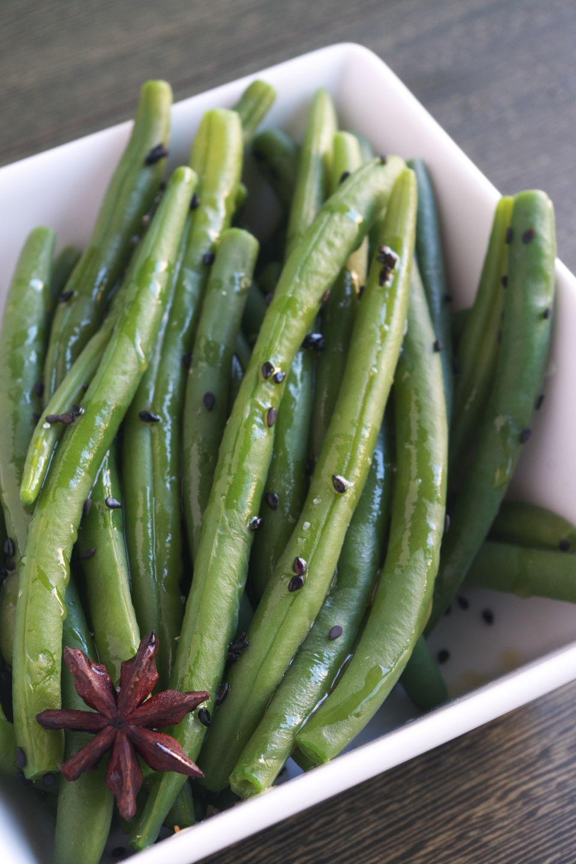 Jud as verdes estilo oriental recetas con sabor para una dieta saludable miso y azafr n - Tiempo coccion judias verdes ...