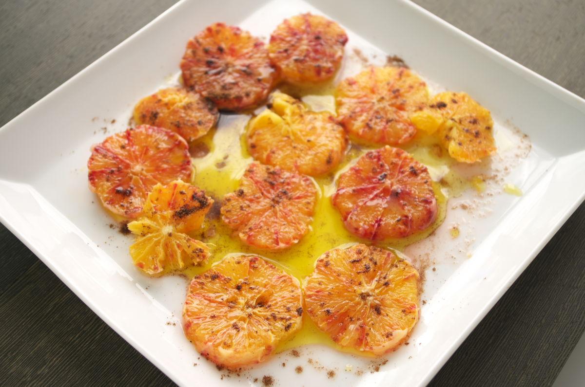 Naranja Sanguina con Aceite de Oliva Extra Virgen y 5 Especias Chinas