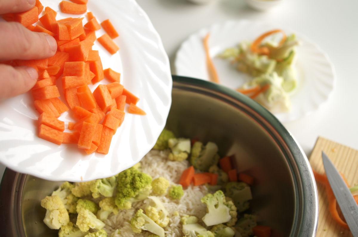 Preparando Arroz Blanco Rápido 5 Ingredientes