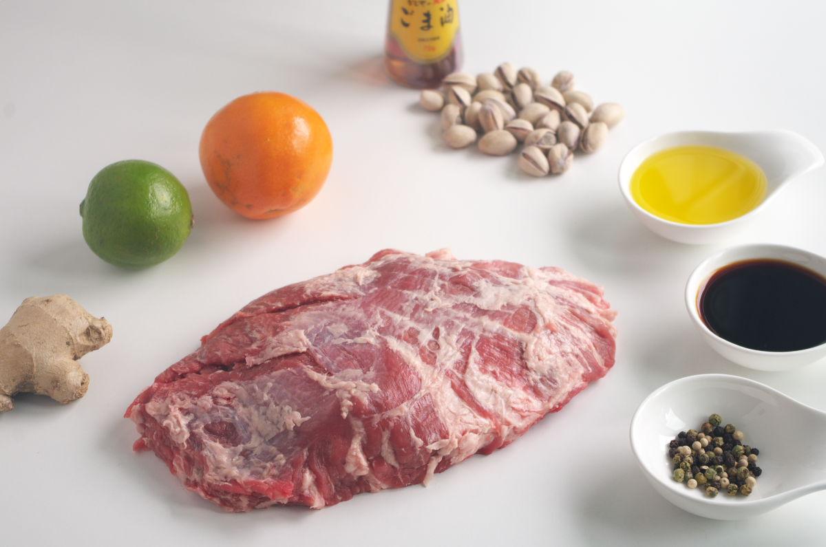 Ingredientes Presa Ibérica con toque Oriental
