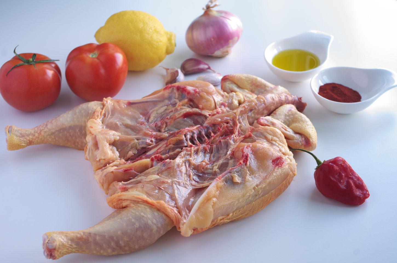 Ingredientes para Receta de Pollo al Piri Piri